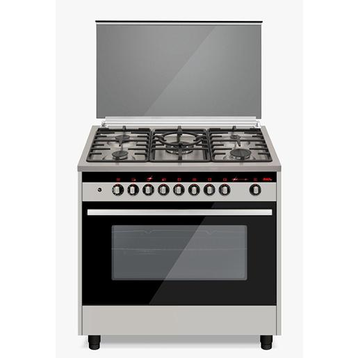Trophy gas cooker 90 cm steel with LED