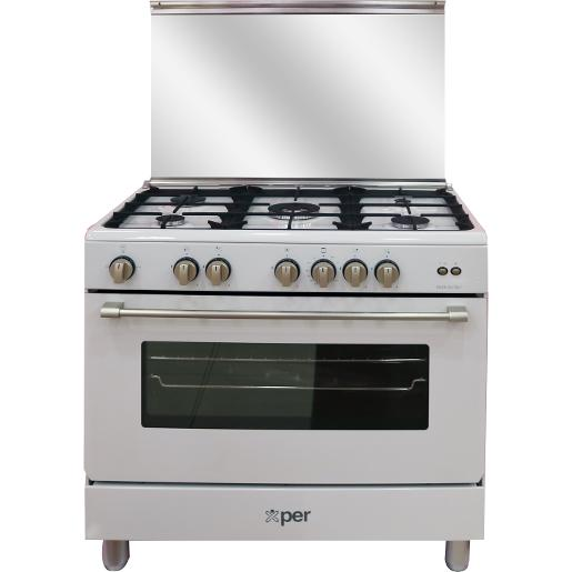 XPER full safety 90*60 white cooker