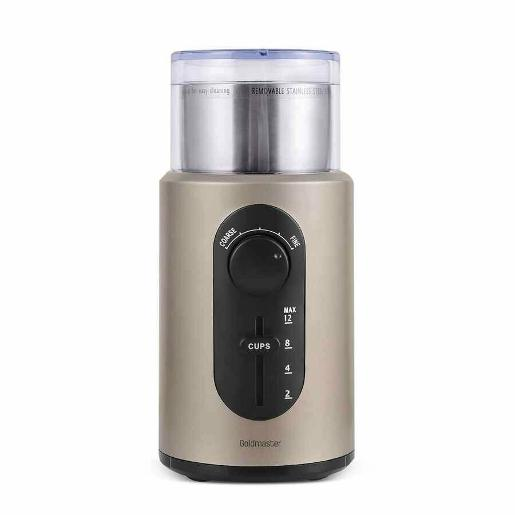 goldmaster coffee bean and spice grinder 70g stainless steel 200w