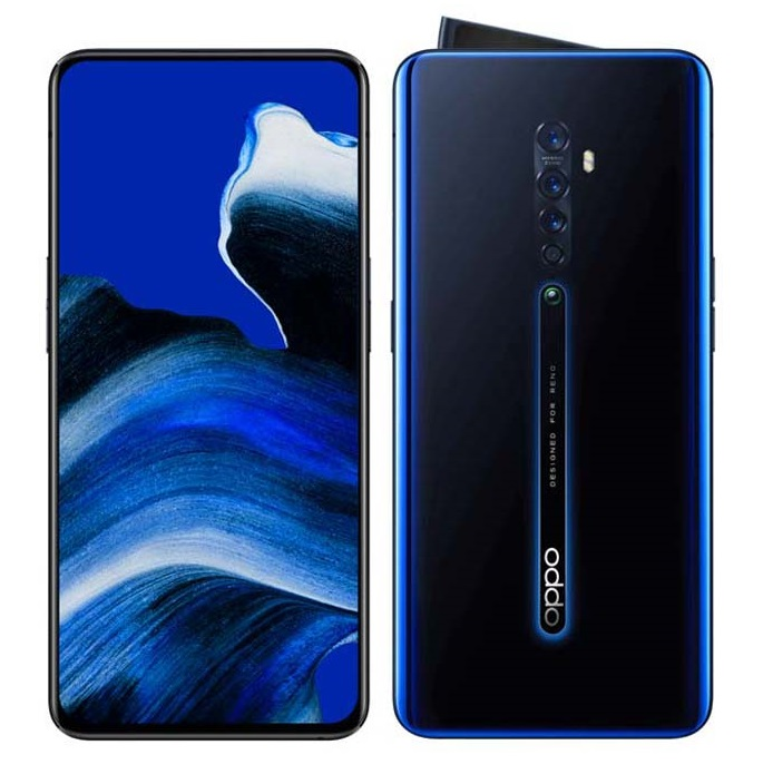 OPPO Reno 2 Mobiles Luminous Black, Ocean Blue, Sunset Pink