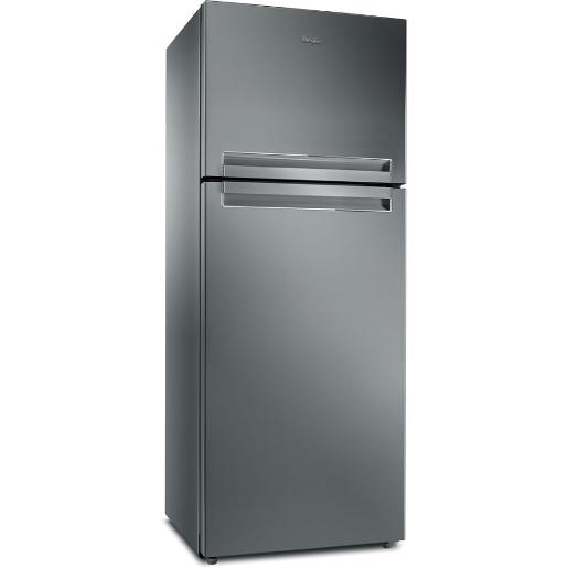 WhirlPool two doors  Refrigerator Stainless Steel A+