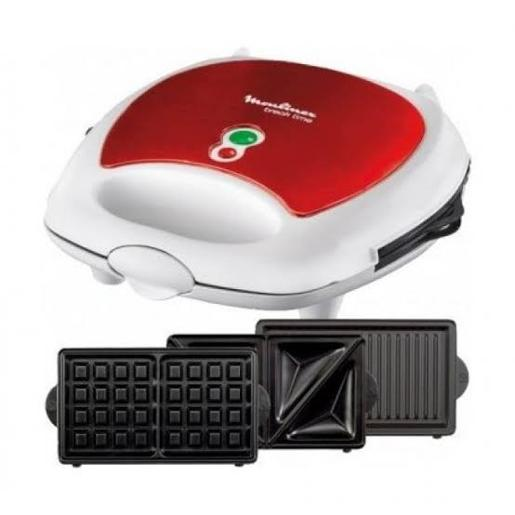 mouulimex  Grill 700 W  red // white