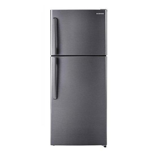 DAEWOO two doors  Refrigerator Stainless Steel A+