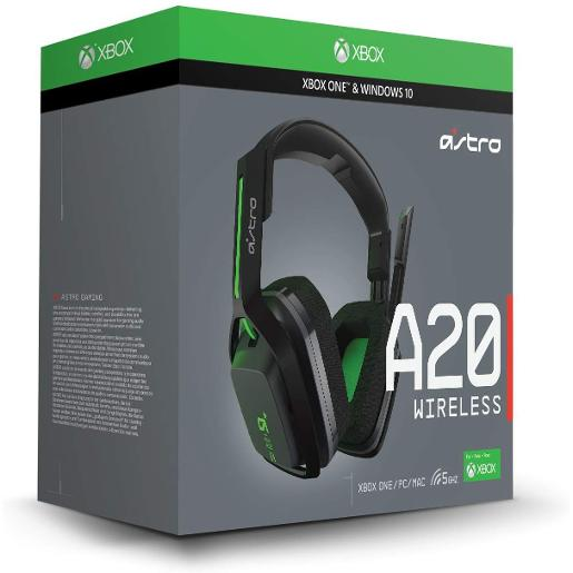 Astro A20 Wirelese Gaming Headset Black/Green Xbox One
