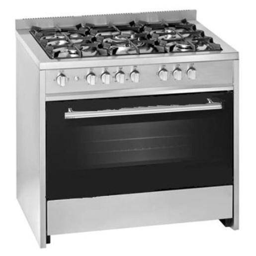 INDESIT full safety 90*60 stainless steel cooker