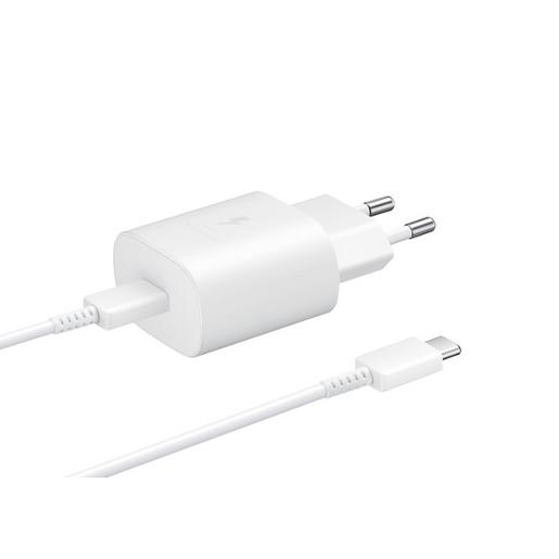 Samsung Travel Adapter (25W)_With Cable Type C to C Wall Charger White