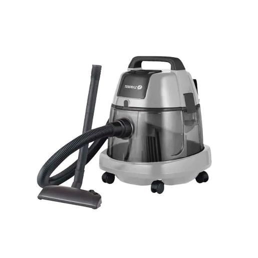 TEKMAZ  V-CLEANER  2200 W Grey  WATER FILTER  Wet and Dry
