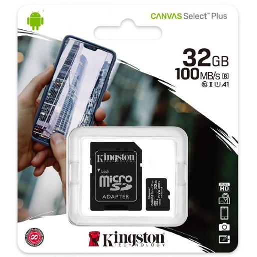 Canvas Select Plus SD Memory Card with Android A1 Performance Class