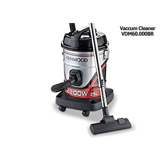 KENWOOD   2200 Watts Power  25 Litre Capacity  Removable And Washable Filter  8Mitre Long