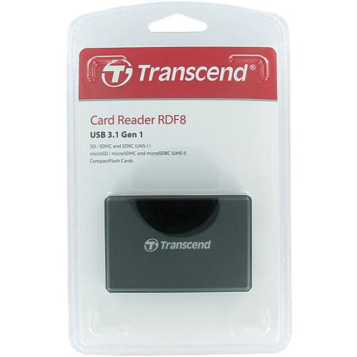 Transcend USB 3.1 Gen 1 Multifunctional Card Reader TS-RDF8K2