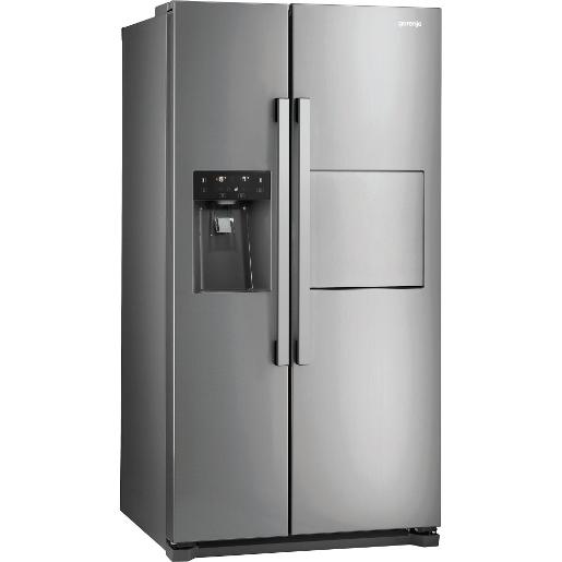 GORENJE side by side Refrigerator Stainless Steel A+
