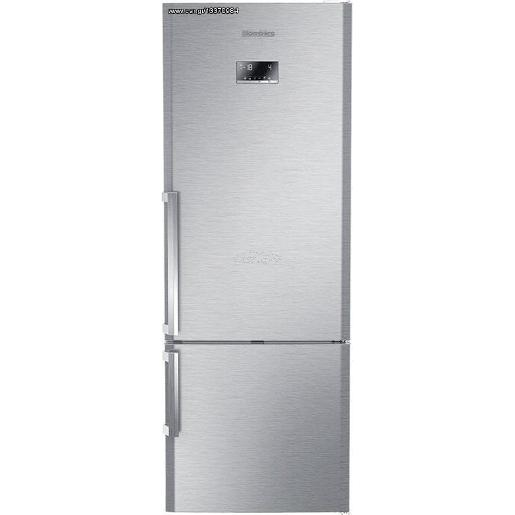 BLOMBERG French  Refrigerator Grey A++