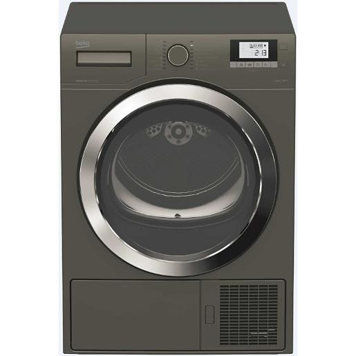 BEKO Dryer Dryer Heat Pump   A++ 8 kg Manhattan  Gray