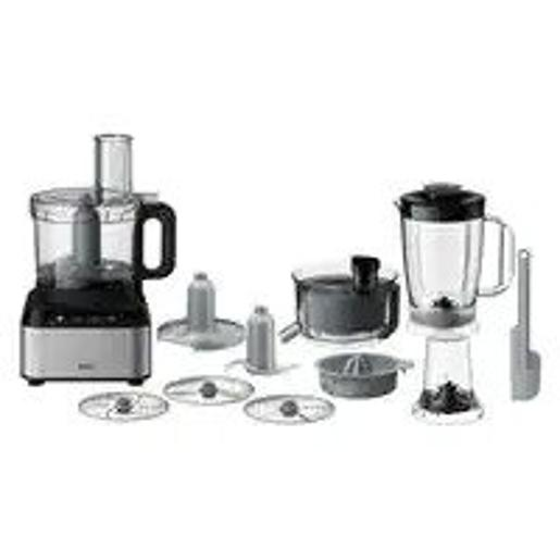 BRAUN food processor DualControl system with variable speed