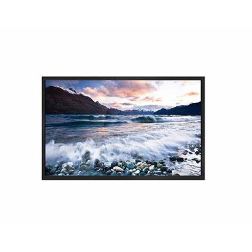"National Deluxe LED TV 65"""" 4K smart with wall mount"