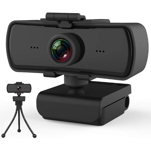 Kisonli 4K Full HD | 4K Web Camera For PC  Plug And Play  Deliver your best video conferenc