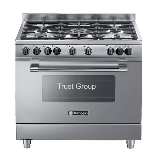 Tecnogas full safety 90*60 stainless steel cooker