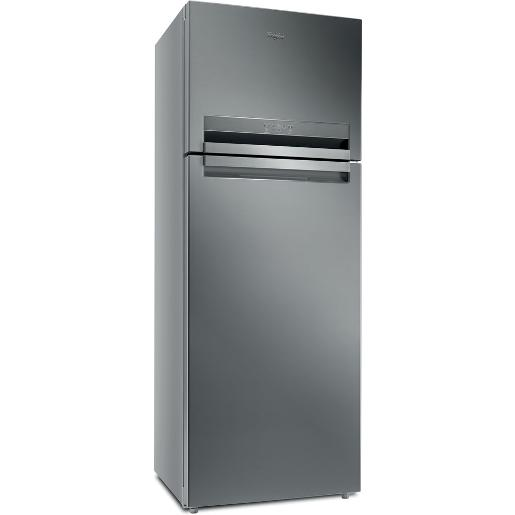 WhirlPool two doors  Refrigerator Stainless Steel A++