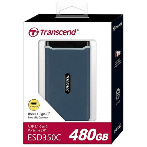 Transcend EXTERNAL SSD RUGGED 1050M/P READ 950MP WRITE (NVMe) 480GB