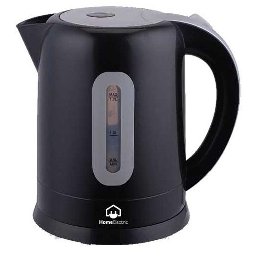 home electric Kettle black  1.7 L