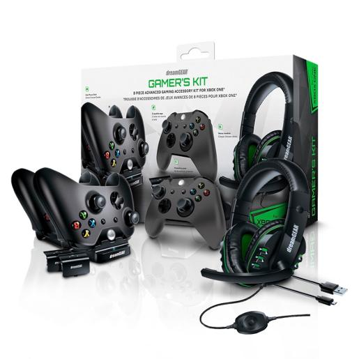 DEAMGEAR Gamers Kit 8 Piece Advanced Gaming Accessory