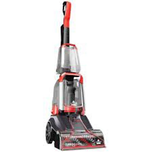 BISSELL POWER CLEAN CARPET WASHER 2X MORE CCLENING POWER 4 ROW ROTATING DEEPERACH POWERBRUSH COM