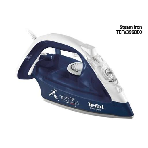 TEFAL Steam Iron Ceramic Soleplate 350ml 2000W White