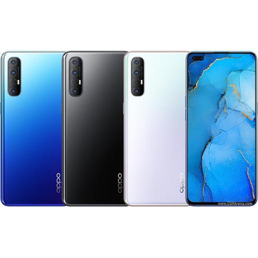 Oppo Reno3 Pro Mobiles Auroral Blue, Midnight Black, Sky White