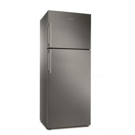 Ariston two doors  Refrigerator Stainless Steel A+