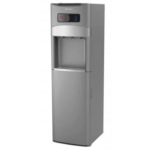 Conti Water Cooler 3 taps silver storage cabinet