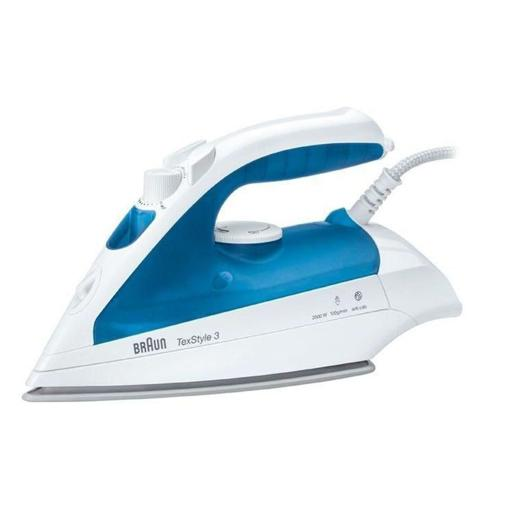 BRAUN Iron BLUE/WHITE