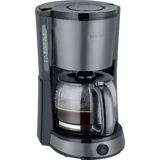 SEVERIN COFFEE MACHINES STAINLESS STEEL 1.25L Black Coffee