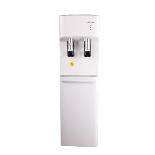 Conti Water Cooler 2 taps white storage cabinet
