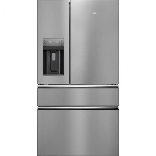 AEG four doors  Refrigerator Stainless Steel A+