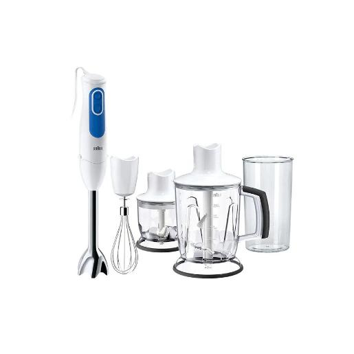 BRAUN Hand Blender 700 W White 1.25l jug blender chopper  chopper 350 ml  whisk