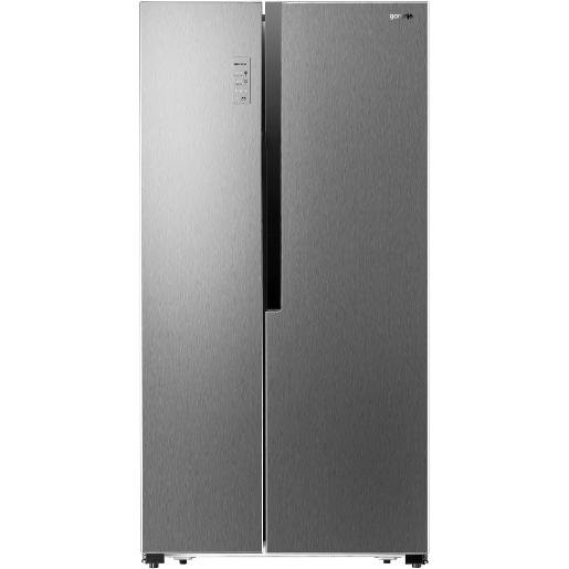 GORENJE side by side Refrigerator Stainless Steel A++