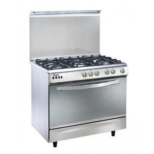 Union air 90 cm full option Stainless & Glass Full Safety Cast Iron Digital with Fan