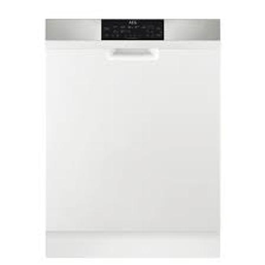 AEG Dish Washer 8 programs 15 Set  White A+++