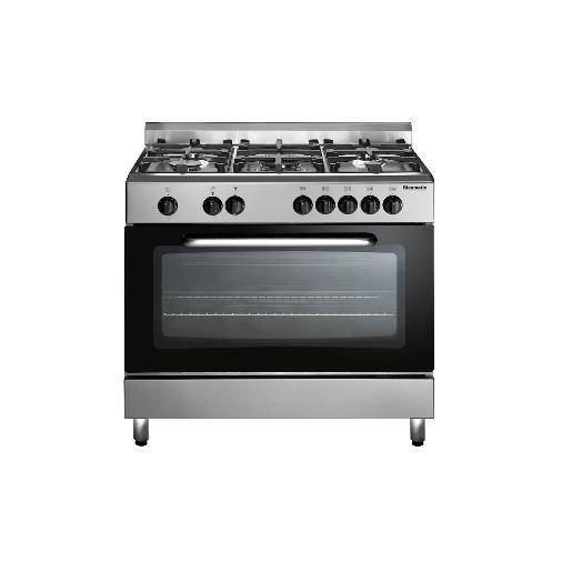 Blumatic Oven 90*60 cm full safety cast iron S.Steel double glass