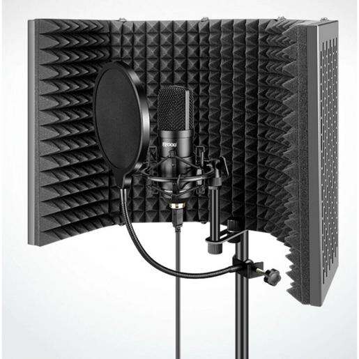 SE Professional Portable Vocal Boot  360-degree Sound Dampening Acoustic Isolation Shield