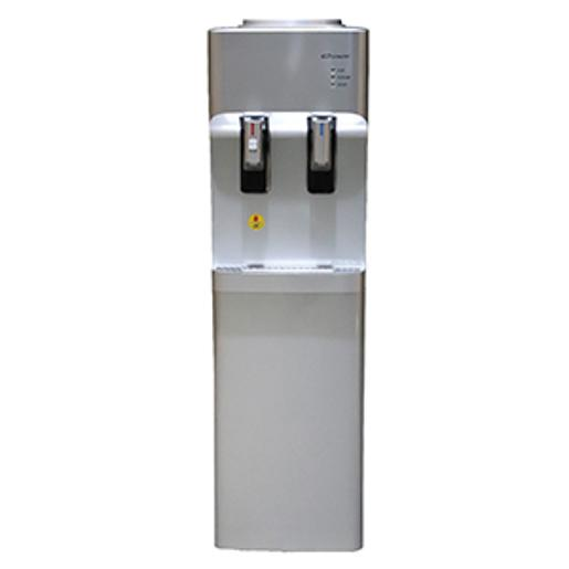 Conti Water Cooler 2 taps silver storage cabinet