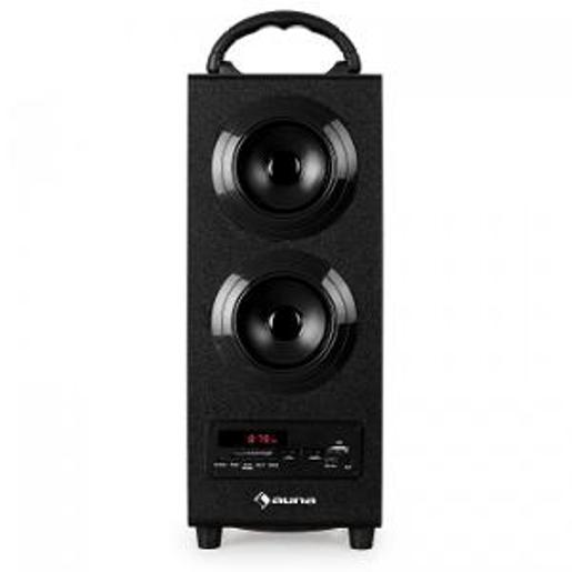 Fisher FBX1544K 15 Inches Wireless Bluetooth Speaker System for Karaoke with Microphone Input