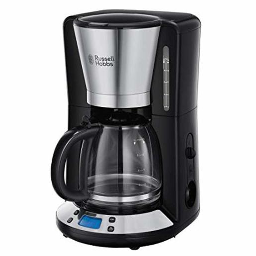 RUSSELL HOBBS COFFEE MACHINES BLACK 1.25L Black Coffee