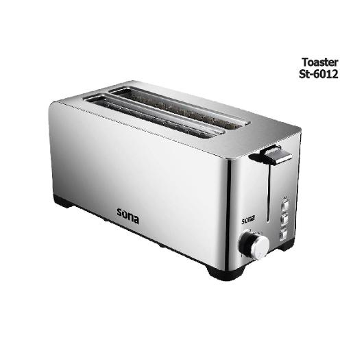 SONA Toaster 1400 W 4 Slices Unti- Freez All Type Of Bread