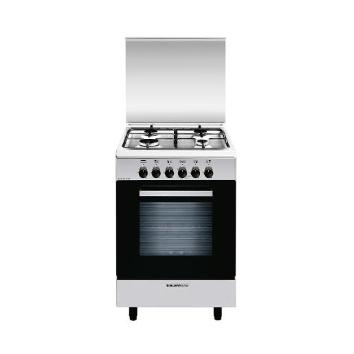 GOLDMASTER Oven Gas Cooker 55cm X 55cm S.Steel duble glass door close system.