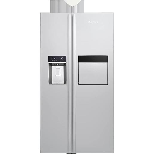 BLOMBERG side by side Refrigerator Stainless Steel A+