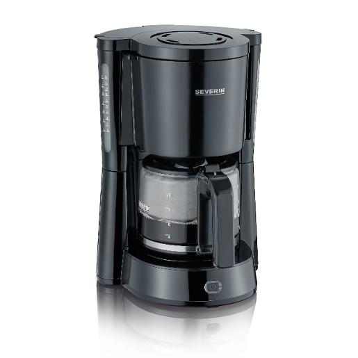 SEVERIN COFFEE MACHINES GREY 1.25L Black Coffee