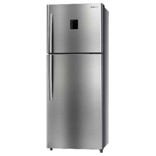 DAEWOO two doors  Refrigerator Silver A+