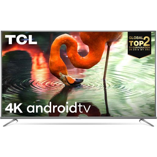 "TCL T.V LED 65"""" Smart  4K UHD  3 HDMI 2USB HDR10+"