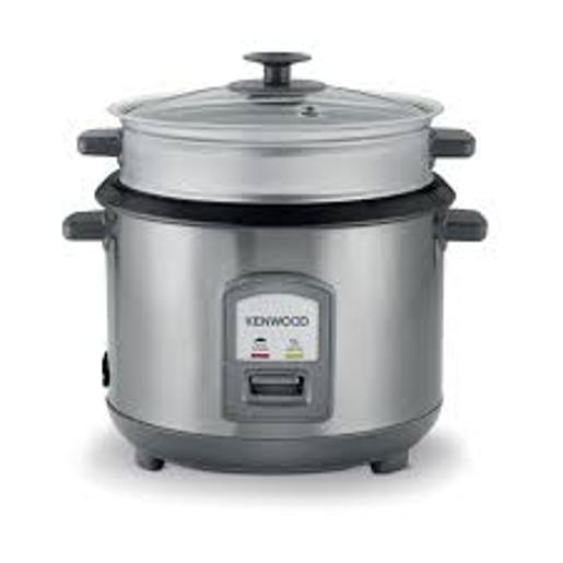 KENWOOD RICE COOKER with Steamer  Large 2.8L Capacity 1000 Watt  S.Steel